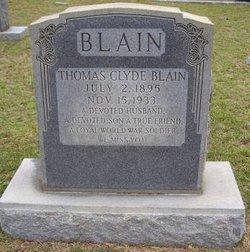 Thomas Clyde Blain