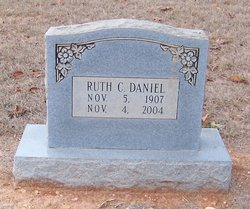 Ruth C <i>Wardlaw</i> Daniel