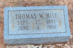 Thomas W Hile