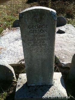 Maj George Gibson