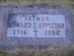 Howard T Appleton