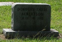Dorothy Earle Albertson