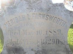 Meribah L <i>Farnsworth</i> Adams