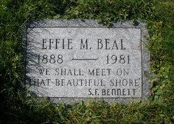 Effie M <i>Smith</i> Beal