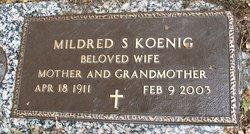 Mildred Sophie <i>Timm</i> Koenig