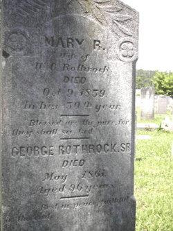 Mary Ruffin <i>Taliaferro</i> Rothrock