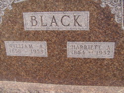 Harriett Amanda <i>Ellis</i> Black