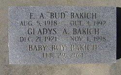 Edward A Bud Bakich
