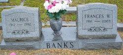 Frances May <i>Willingham</i> Banks
