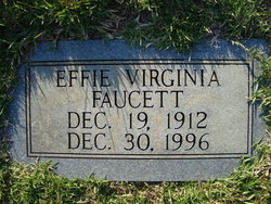 Effie Virginia Faucett