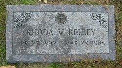 Rhoda <i>Witwer</i> Kelley