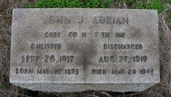 Corp John Joseph Adrian