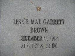 Lessie Mae <i>Garrett</i> Brown