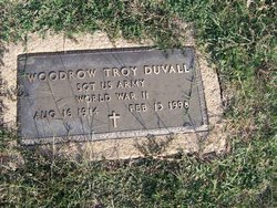 Woodrow Troy Duvall