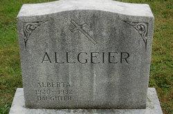 Alberta Allgeier