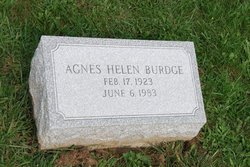 Agnes Helen Burdge