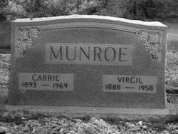 Carrie Lou Emma <i>Brown</i> Munroe