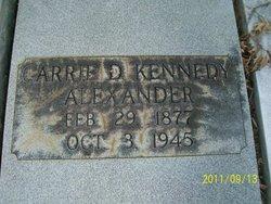 Carrie <i>Kennedy</i> Alexander