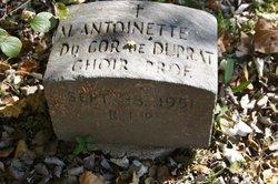 M. Antoinette Du Cor De Duprat