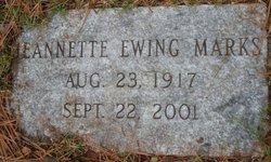 Jeannette Ewing Marks