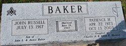 Patience H Baker