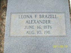 Leona F. <i>Brazell</i> Alexander