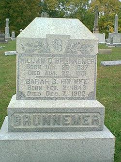 Sarah S <i>Sheek</i> Brunnemer