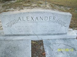 Emma <i>Threet</i> Alexander