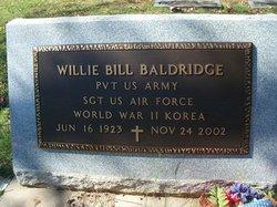 Pvt Willie Bill Baldridge