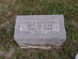 Anna K Ballinger