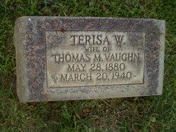 Terisa W. <i>Lay</i> Vaughn