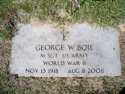 George W Boie