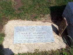 Max Eugene Adamson