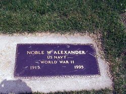 Noble W. Alexander