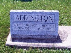 Bernice <i>Brosey</i> Addington