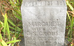 Margaret E <i>Deeds</i> Crouse