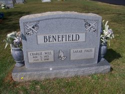 Charlie Will Benefield