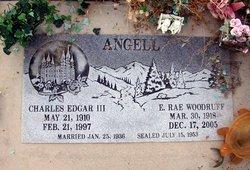 Edna Rae <i>Woodruff</i> Angell