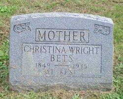 Christina <i>Wright</i> Bets, V