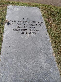 Sarah <i>Sussman</i> Shuster