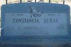 Constancia Maria <i>Valencia</i> Duran