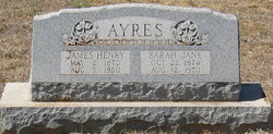 Sarah Jane <i>O'Neal</i> Ayres