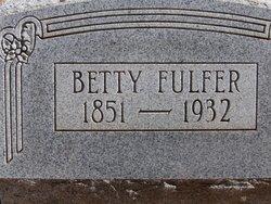 Margaret Elizabeth Bettie <i>Ledbetter</i> Fulfer