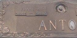 Frank W Antos