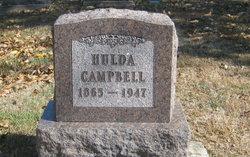 Hulda <i>Glidewell</i> Campbell