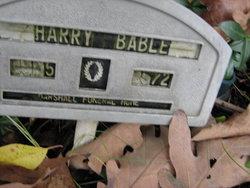 Harry Bable