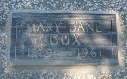 Mary Jane <i>McCluskey</i> Cox