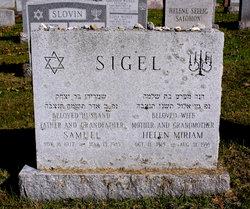 Helen M. <i>Sillman</i> Sigel
