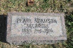 Pearl <i>Roush</i> Adamson