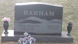Frances Ann <i>Sutton</i> Barham